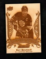Ray Bourque 19-20 Engrained Carved In Time 2019-20