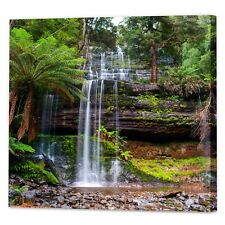 Australian Forest Waterfall Canvas Print | Framed Ready to Hang Landscape Art