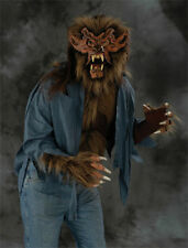 Brown Werewolf Wolf Hairy Shirt Zagone Studios Brown Fur Adult Costume Shirt