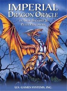 Imperial Dragon Oracle Cards Deck, by Andy Baggott & Peter Pracownik!