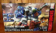 NEW Transformers Titans Return Titan Class Fortress Maximus, Emissary, Cerebros