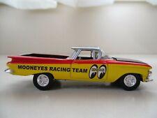 HOT WHEELS - MOONEYES RACING TEAM - 1959 CHEVY EL CAMINO PICKUP - REAL RIDERS