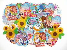 Summer Sticker 25 pcs Marine Flower Animal Hawaii Girl Scrapbook MIND WAVE JAPAN