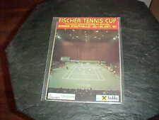 1984 Fischer Tennis Grand Prix Tennis Program Vienna Austria