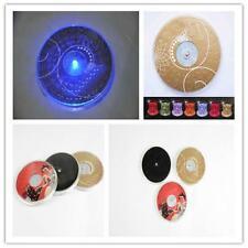LED Coaster Color Changing Light Up Bottle Drink Cup Mat For Party ball Club AD