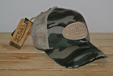 Von Dutch Truckercap Camouflage used Mesh Sand Patch Cap NEU Basecap Army-Style