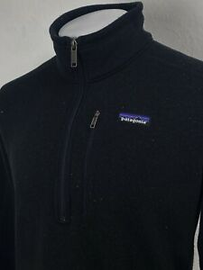 Patagonia | Men's Better Sweater Jacket In Black L|XL ~ Outdoors Hiking 90's