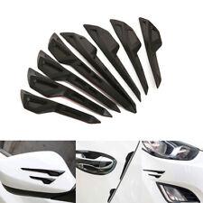 8pcs Black Car Door Edge/Side Mirror/Body Anti-scratch Protector Guard Stickers