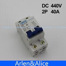 2P 40A DC 440V Circuit breaker MCB