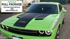 2015 Challenger DIY HOOD + SIDE STRIPES DECAL INSTALL KIT ~ PICK YOUR COLOR!