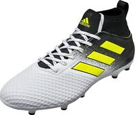 adidas Perfomance Men's Ace 17.3 FG Firm Ground Primemesh Football Boots White