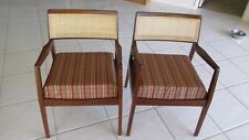 """Two Vintage Jens Risom """"Playboy"""" Arm Chairs"""