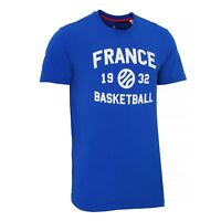 adidas French Federation Basketball Tee T-shirt S04531~Mens~UK S TO 3XL Only