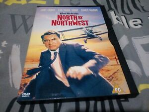 North By Northwest DVD snapper, snap, keep case region 2 cary grant. Used