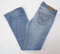 Levis Levi's Hose Jeans 572 Boot Cut W30 L32 30/32 blau stonewashed Denim E1021