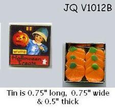 HALLOWEEN COOKIES TIN Dollhouse Miniature 1:12 Scale Food
