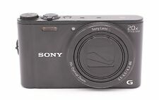 Sony Cyber-shot DSC-WX350 18.2MP Digital Camera - Black