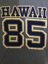Vintage 80s 1980s HAWAII 85 Cozy Shirt All Cotton Pre-Shrunk T Shirt Size S