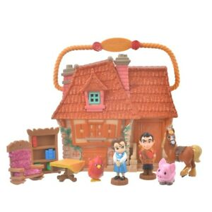 Disney Store Japan Limited Beauty and the Beast Playset Animators Collection