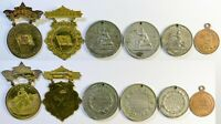 1890's California Admission Day Festival Hanging Badges Award Token Coin Medal