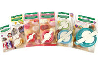 Clover Premium Quality Pom-Pom Makers Assorted Sizes And Styles!