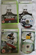 Tom Clancy's Splinter Cell Double Agent + Conviction 2 GAMES (Xbox 360)