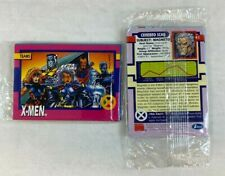 PROMO CARD PACKET: X-MEN SERIES 1 Impel 1992 5 SAMPLE CARDS *SEALED