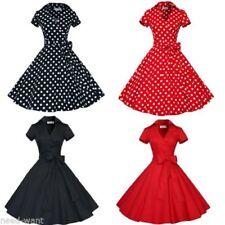 Short Sleeve Dresses for Women's 1950s