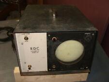 rdc oscilloscope model 200 RDC Model 200 Solid-State Oscillos