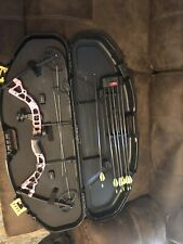 Diamond Bowtech Compound Pink Camouflage Right Hand Compound Bow 7-70 lbs