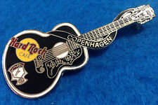 COPENHAGEN DENMARK ELVIS PRESLEY DEAD ROCKER ACOUSTIC GUITAR Hard Rock Cafe PIN