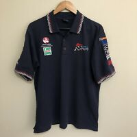 Holden Kmart Racing Team V8 Supercars Vintage 90's Polo Shirt Mens Large
