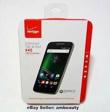 "Brand New Verizon Prepaid Motorola Moto G G4 Play 4th Gen XT1609 4G LTE 5"" 16GB"