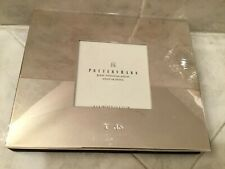 Pottery Barn Great Memories I Do Album Silver Plated 30 pages wedding gift class