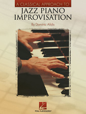 "A Classical Approach To ""Jazz Piano Improvisation"" Music Book-Brand New On Sale!"