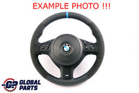 *BMW E46 NEW Leather / Alcantara M-Sport Thick Steering Wheel Tricolored Threads