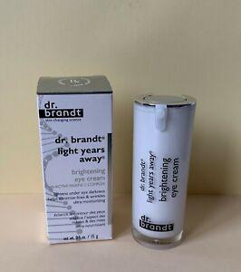 BNIB Dr. Brandt Light Years Away Brightening Eye Cream 15g Full Size
