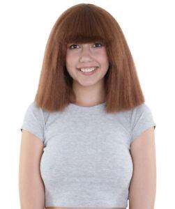 Australian Singer Wigs | Brown Large Celebrity Wig HW-1151
