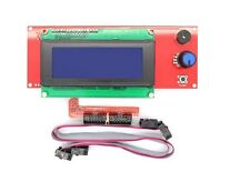 2004 LCD Display Smart Controller W/ Adapter For RAMPS1.4 Reprap 3D Printer