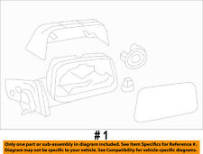 FORD OEM 2010 Edge Door Side Rear View-Power Mirror Assy Left AT4Z17683BAPTM