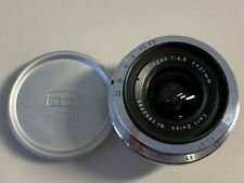 Contax Carl Zeiss 21mmF4.5 Biogon for Contax rangefinder camera
