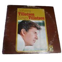 Johnny Tillotson Sings Tillotson Vinyl Record MS-561