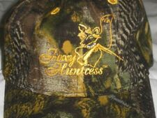 WOMENS FOXY HUNTRESS HUNT FISH GAME CAMO CAMOUFLAGE BLING BALL CAP HAT NWT