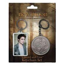 Twilight Edward Cullen Lion Wappen New Moon Schlüsselanhänger Keychain Set NECA