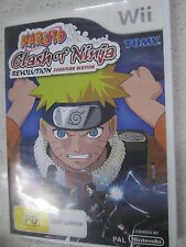 naruto clash of ninja revolution european version wii