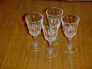 Cris D'Arques Durand Crystal Chantelle  Wine Set