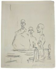 """ALBERTO GIACOMETTI """"SCULPTURES DANS L'ATELIER"""" 1964 