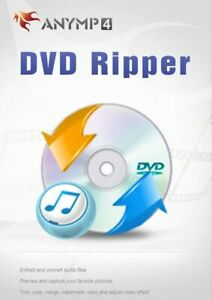 AnyMP4 DVD Ripper Full version for 1 user, for Windows
