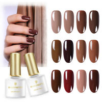 BORN PRETTY 6ml UV Gel Nail Polish Caramel Series Soak off Nail Art Gel Varnish