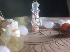 Witch Love Spell Pink Himalayan Sea Salt Pentagram Potion Bottle